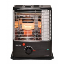 Free Fuel + A Zibro 2.7Kw N.F. Wick Paraffin Heater By Toyotomi Japan (Double Burner Super Performance)