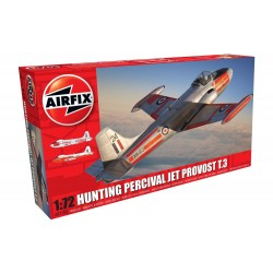 Hunting Percival Jet Provost T.3/T.3a 1/72 Scale