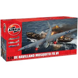 De Havilland Mosquito Fbvi 1/24 Scale Dis Kit Airfix A25001A