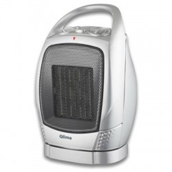 Qlima 1.5 Kw Portable Fan Heater With Swivel