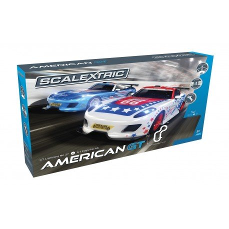 Scalextric American GT Set 1/32 Scale