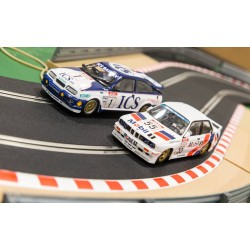 Touring Car Legends Twinpack - Ford Sierra RS500 and BMW E30 1/32 Scale