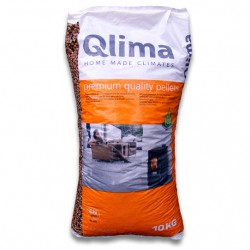 Two 10Kg Bags Of Qlima Wood Pellets For Stove 10 Kg Per Bag