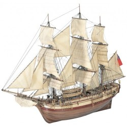 Wooden Model Ship Kit: HMS Bounty 1/48