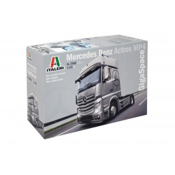Mercedes Benz Actros MP4 Gigaspace 1/24 Scale Kit