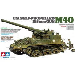 US Self-Propelled 155mm Gun - M40 1/35 Scale Kit