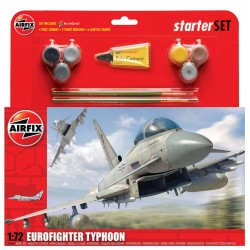 Airfix Kit / Eurofighter Typhoon Starter Set 1/72 - A50098