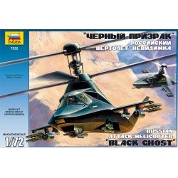 """""""Black Ghost"""" stealth helicopter 1/72 Scale Kit"""