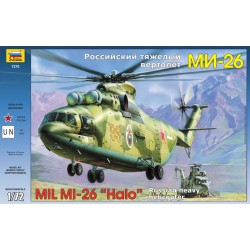 MIL MI-26 SOVIET HEAVY HELICOPTER HALO - 1/72 Scale Kit