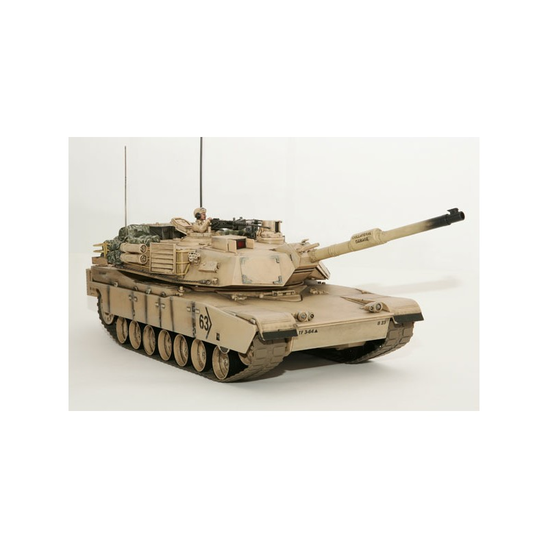 Remote Abrams Tank Desert Std 1 16 Scale Hobby Engine RCHE0817 New