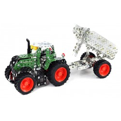 T10021 Fendt 313 Vario With Trailer (759 Parts) Tronico