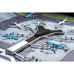 Airport Accessories (Amsterdam Airport Schiphol Pier F Building)