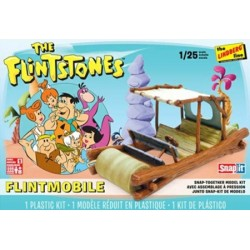 1/25 THE FLINTMOBILE FLINTSTONES CAR SNAP KIT (PLASTIC KIT)