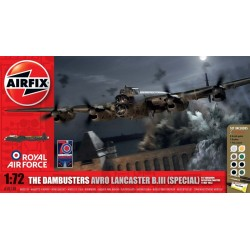 The Dambusters Avro Lancaster B.Iii (Special) 'Operation Chastise' Gift Set Dis Kit Airfix A50138