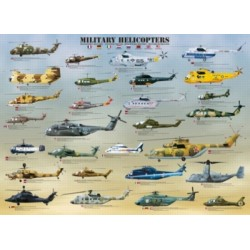 Military helicopters Jigsaw