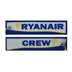 Keyholder with Ryanair on one side and (Ryanair) crew on other side