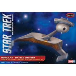 1/1000 STAR TREK ROMULAN BATTLE CRUISER (PLASTIC KIT)