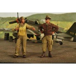 Usaaf Fighter Pilots Wwii Kit 1/32 SCALE