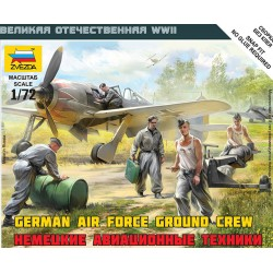 German Air Force Ground Crew Kit 1/72 SCALE