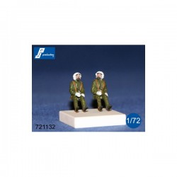 Raf Pilots 70'S Kit 1/72 scale