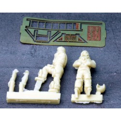 French Military Pilots Kit 1/48 scale