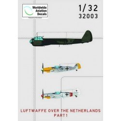 Luftwaffe Over The Netherlands Decals 1/32 scale