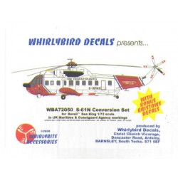 Sikorsky S61N Mca Conversion Decals 1/72 Scale