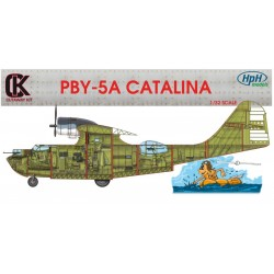 Sectioned Cut Pby 5A Catalina 1/32 Scale Resin Kit. Museum Display Quality