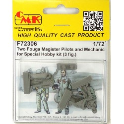 Two Fouga Magister Pilots Kit 1/72 scale