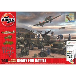 Airfix Battle Of Britain - Ready For Battle Gift Set 1/48  DIS