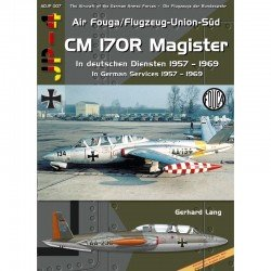Fouga CM170 Magister In German Services 1957 - 1969