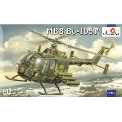 Bolkow Bo105P Military 1/72 Scale