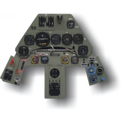 Focke Wulf FW190 Instrument Panel 1/4 Scale