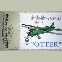 De Havilland DHC3 Otter USAF, RCAF 1/144 Scale Resin kit