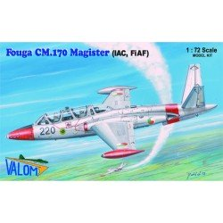 Fouga Cm170R kit 1/72 Scale Kit