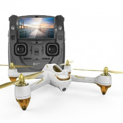 Hubsan 501S Drone White X4 Fpv Quad W/Gps 1080P,1 Key,Follow,Headless Husban
