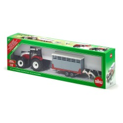 1:32 Steyr With Livestock Trail W/2 Cows