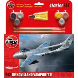 De Havilland Vampire T11 Starter Set 1/72 - A55204 Kit Airfix A55204