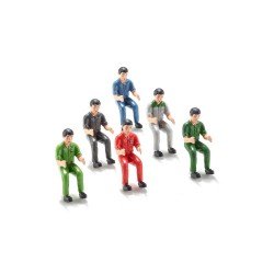 1:32 Set Of 6 Tract Drivers