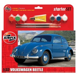 Vw Beetle Starter Set 1/32 Kit Airfix A55207