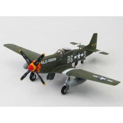 P51D Mustang USAAF, 414450,  363rd FS, 357th FG,  AUTOGRAHED by Bud Anderson Diecast