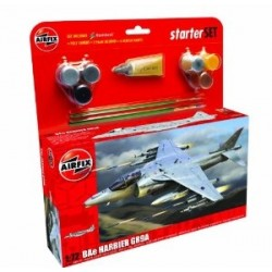 Airfix Kit / Bae Harrier Gr9A Starter Set 1/72 - A55300