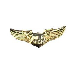Mile High Club Honorary Member Wing Pin Kit