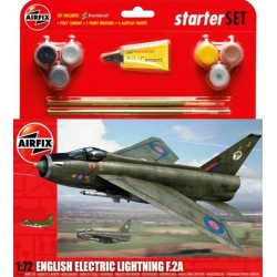 English Electric Lightning F.2A Starter Set 1/72 - A55305 Kit Airfix A55305