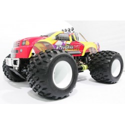 Remote Hobao Pirate Nitro Buggy Spt Monster Rtr W/Mach 28 Engine 1/8 Scale