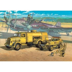 Wwii German Fuel Truck And Schwimwagen 1/72 Scale Kit