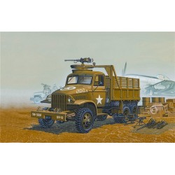WWII US 6X6 Cargo Truck & Accessories 1/72 Scale Kit