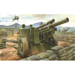 M101A1 105mm Howitzer & M2A2 Carriage AFV Club Kit 1/35