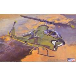 "Bell AH1G ""Marines"" Helicopter Kit 1/72 Scale"