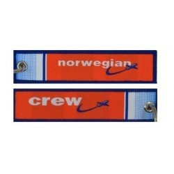 Keyholder with Norwegian on one side and Norwegian crew on other side